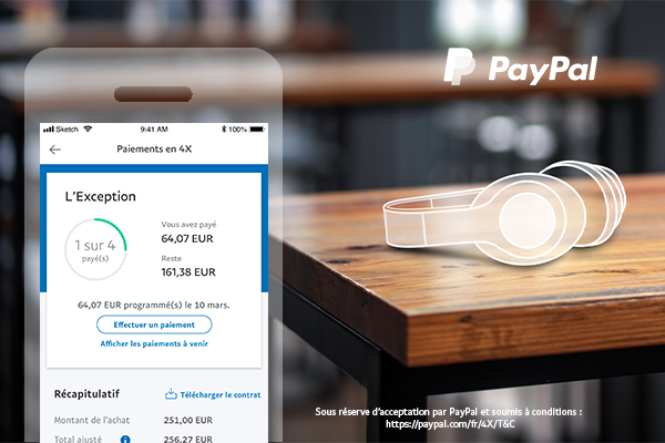 Installments FR 600x400 - PayPal extends 'buy-now-pay-later' to France