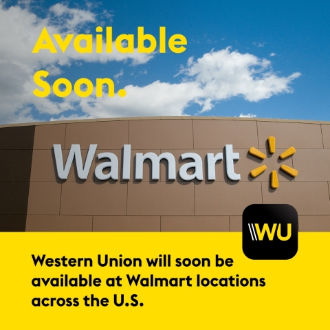 Walmart and Western Union agree to offer Western Union money transfers at Walmart