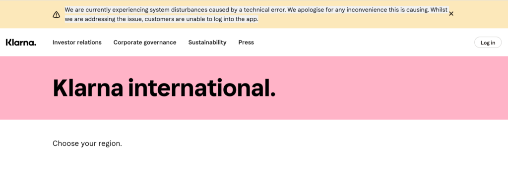 """Breaking: Klarna down after """"self-inflicted incident"""" apparently lets 90,000 users see others' accounts"""