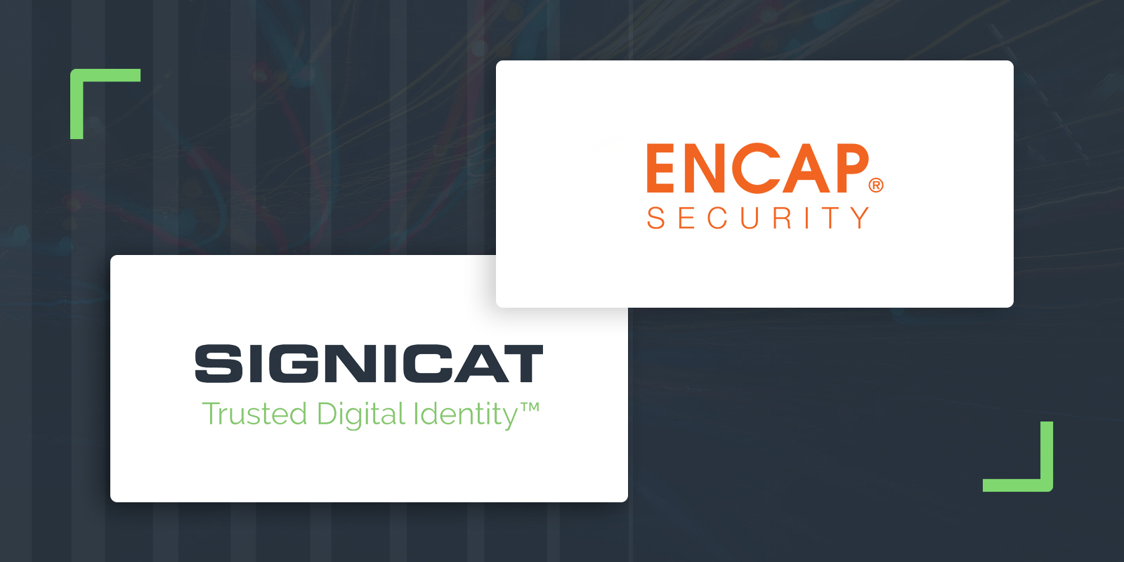 Joint logos web banner Encap security and Signicat logo30 - Signicat acquires Encap Security
